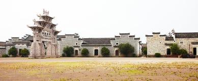 Portoni antichi cinesi Fotografia Stock Libera da Diritti