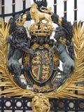 Portoni del Buckingham Palace, Londra Immagini Stock