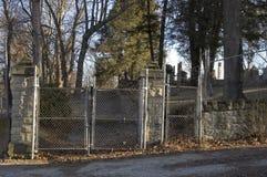 Portoni del cimitero Immagine Stock Libera da Diritti