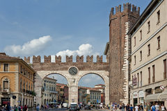 Portoni della Brà, Verona, Italy Royalty Free Stock Photo