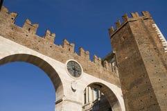 Portoni della Bra. In Verona Royalty Free Stock Photo