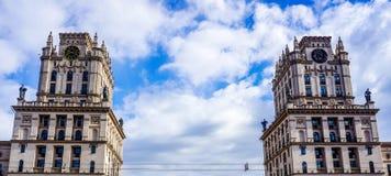 Portoni di Minsk immagine stock libera da diritti