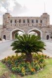 Portoni difensivi di vecchio Muscat, Oman Immagine Stock Libera da Diritti