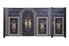 Portoni e porte decorativi. Fotografie Stock Libere da Diritti