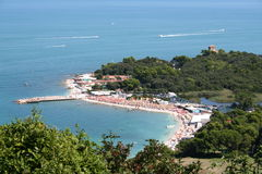 Portonovo, Ancona Stock Photo