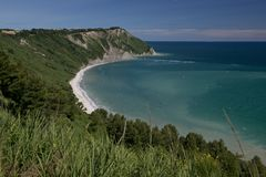 Portonovo bay Royalty Free Stock Photos