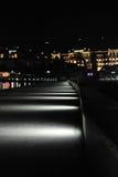 Portorose alla notte Fotografie Stock Libere da Diritti