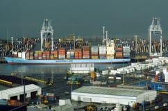 Portos de Auckland em Auckland Nova Zelândia NZ Imagens de Stock