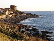 Portoscuso in Sardinige in Italië stock fotografie