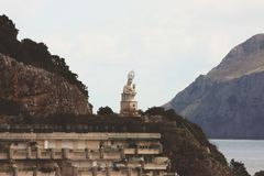 Portoskuld i Spanien Arkivfoto