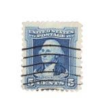 portostämpel 1932 washington Fotografering för Bildbyråer