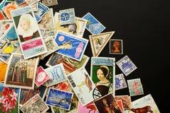 portostämplar arkivbilder