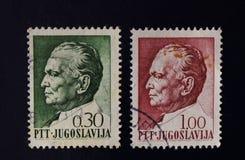 Portostämpel Josip Broz Tito Royaltyfria Bilder