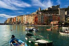 Portovenere利古里亚意大利 免版税库存图片