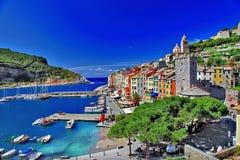 Portovenere,意大利 免版税库存照片