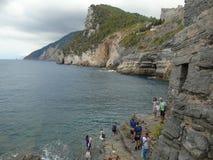 Portovenere στη Λιγυρία Ιταλία Στοκ Εικόνες