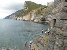 Portovenere στη Λιγυρία Ιταλία Στοκ εικόνα με δικαίωμα ελεύθερης χρήσης