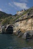 portovenere ландшафта Стоковое Изображение