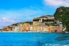 Portovenere -利古里亚意大利 免版税库存图片