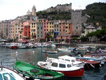 Portovenere. Small town in Italy Royalty Free Stock Photos
