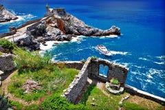 Portovenere zdjęcie royalty free