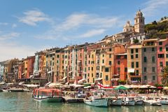 Portovenere Bay, Italy View Royalty Free Stock Image