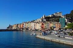 Portovenere, Cinque Terre, Italië Stock Foto