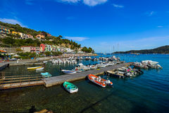 Portovenere in Cinque Terre - Italy Royalty Free Stock Images