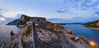 Portovenere in Cinque Terre - Italy Stock Photo