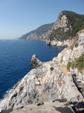 Portovenere coast Royalty Free Stock Photo
