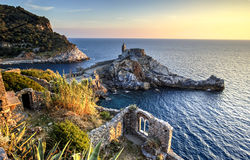 Portovenere coastline, Italy Stock Photo