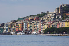 portovenere de l'Italie Photographie stock