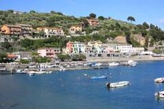 Portovenere en Italia Foto de archivo libre de regalías