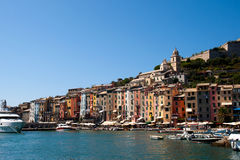 Portovenere harbour, Italy Royalty Free Stock Photo