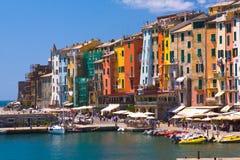 Portovenere, Italien Stockbilder