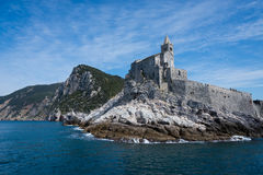 Portovenere in Italien Stockfotos