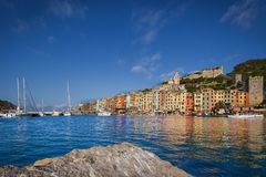 Portovenere, Italy. The colorful village of Portovenere, Liguria, Italy Royalty Free Stock Photo