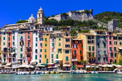 Portovenere in  Liguria, Cinque Terre, Italy Royalty Free Stock Photography