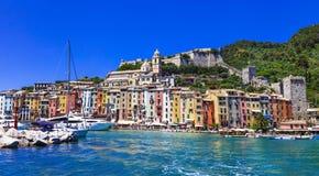 Portovenere - Liguria, Cinque Terre, Italy Stock Images