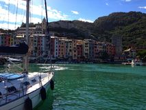 Portovenere Liguria Włochy zdjęcie royalty free