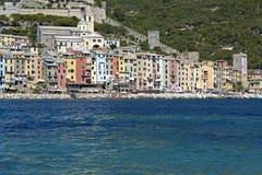Portovenere, Liguria Włochy Zdjęcie Royalty Free