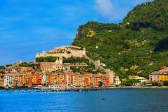 Portovenere, Liguria - Włochy Obraz Stock