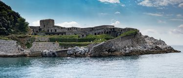Palmaria island view panorama landscape unesco heritage Royalty Free Stock Photography
