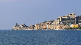 Portovenere panorama Stock Photography