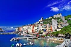 Portovenere. Scenic Ligurian coast of Italy Royalty Free Stock Photos