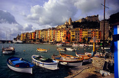 Portovenere Seafront Stock Photos
