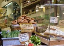 Portovenere shoppar fönstret Royaltyfri Bild