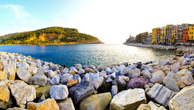 Portovenere stones Stock Photo