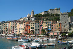 Portovenere. Village of Portovenere, Liguria, Italy Stock Photo
