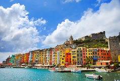 Free Portovenere Village On The Sea. Cinque Terre, Ligury Italy Stock Image - 54516951